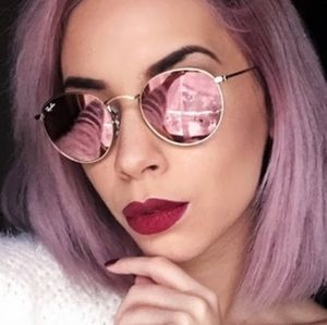 🍓Ray-ban Round Pink RB3447 new